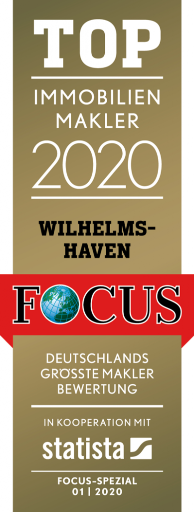 FCS Siegel TOP Immobilienmakler 2020 Wilhelmshaven